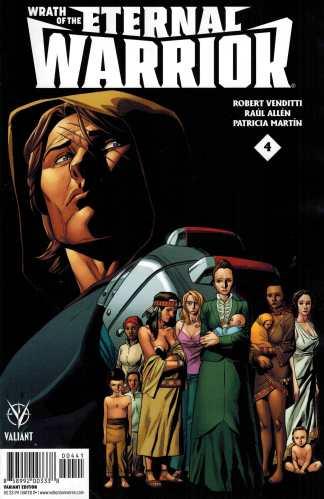 Wrath of the Eternal Warrior #4 1:10 Clayton Henry Variant Valiant 2015