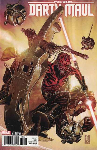 Star Wars Darth Maul #1 1:50 Mark Brooks Variant Marvel 2017