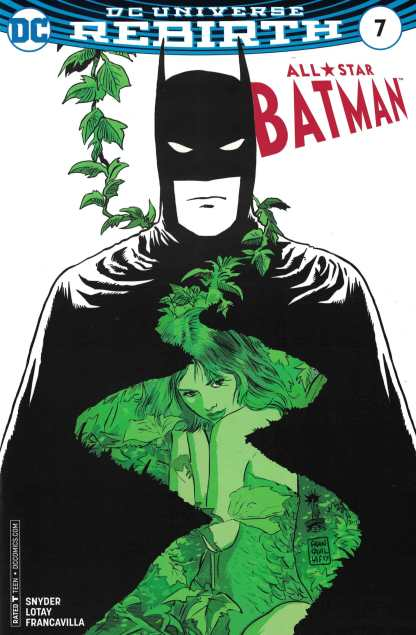 All Star Batman #7 Francavilla Comicpro Exclsuive Variant DC 2016 Poison Ivy