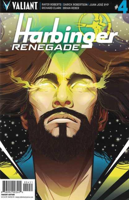 Harbinger Renegade #4 1:20 Cheung Variant Cover E Valiant 2016