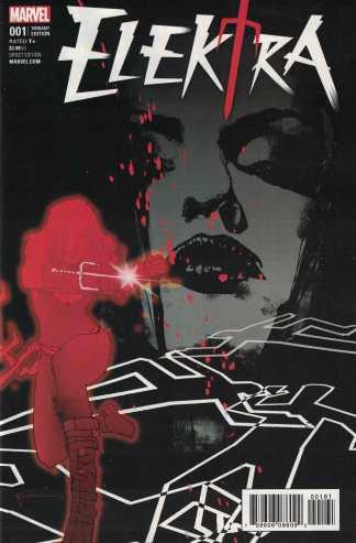 Elektra #1 1:50 Bill Sienkiewicz Variant NOW Marvel 2017 Rare HTF