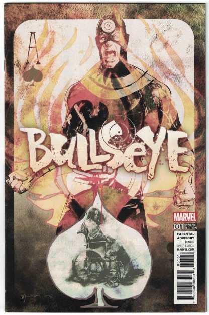Bullseye #1 1:50 Bill Sienkiewicz Variant NOW Marvel 2017 VF/NM