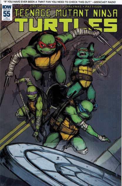 Teenage Mutant Ninja Turtles #55 1:10 Retailer Incentive Variant RI IDW TMNT