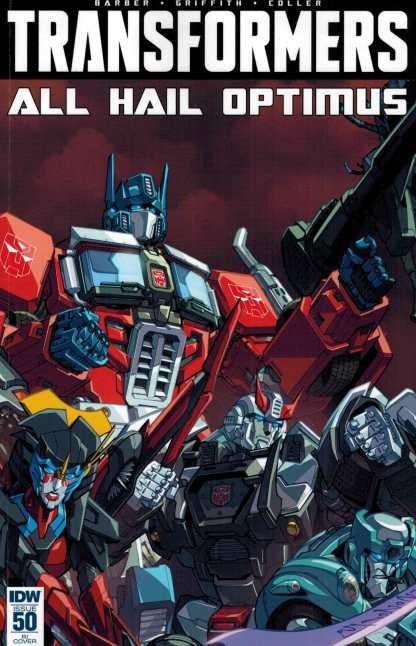 Transformers #50 1:10 Alex Mine Variant RI IDW All Hail Optimus