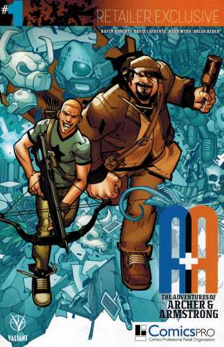 A&A Adventures of Archer Armstrong #1 Comicspro Exclsuive Variant Valiant