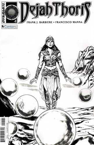 Dejah Thoris #1 Comicspro Exclusive Variant Dynamite 2016 John Carter