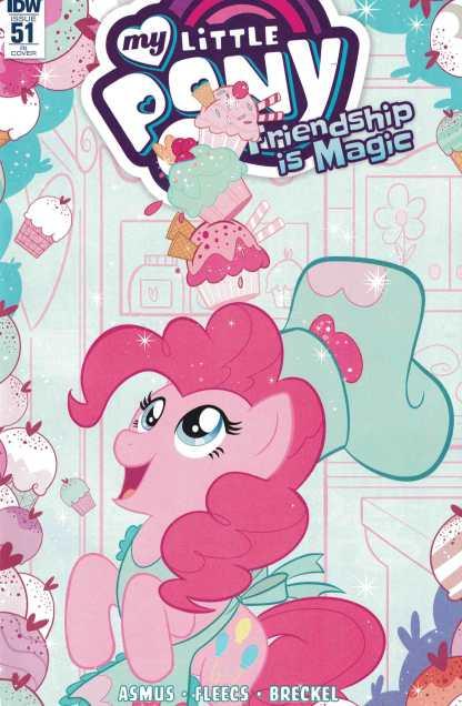 My Little Pony Friendship is Magic #51 1:10 Nicoletta Balder RI Variant IDW