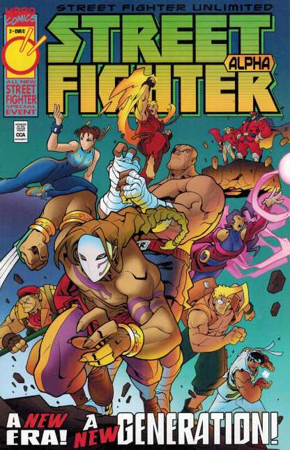 Street Fighter Unlimited #2 1:10 Variant Cover C Age of Apocalypse Homage