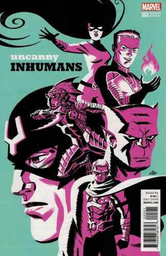 Uncanny Inhumans #5 1:20 Michael Cho Variant Marvel ANAD 2015