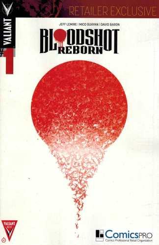 Bloodshot Reborn #1 Comicspro Exclusive Variant Jeff Lemire Valiant