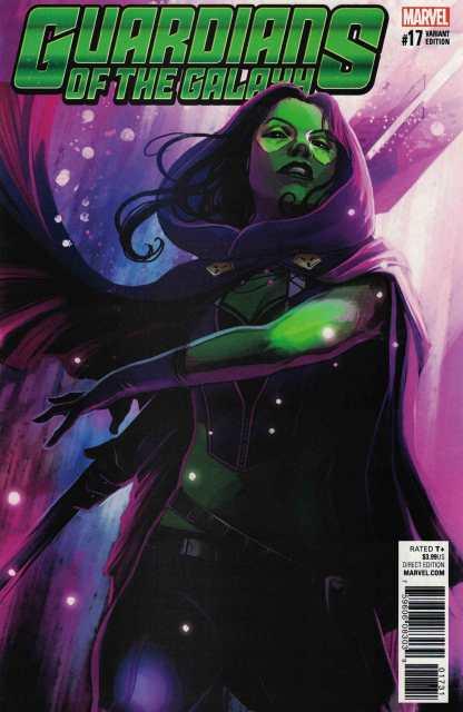 Guardians of the Galaxy #17 1:25 Stephanie Hans Variant ANAD Marvel 2015 Gamora