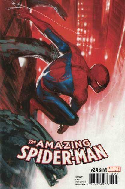 Amazing Spider-Man #24 1:25 Dell'Otto Variant Marvel CC 2015 ANAD