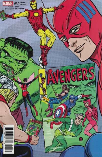 Avengers #4.1 1:25 Mike Allred Variant NOW Marvel 2016 Point One