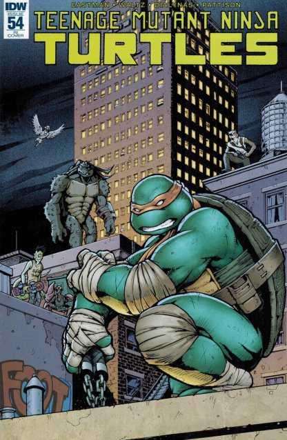 Teenage Mutant Ninja Turtles #54 1:10 Retailer Incentive Variant RI IDW TMNT