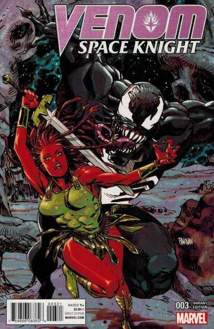 Venom Space Knight #3 1:25 Dan Panosian Variant Marvel ANAD 2016