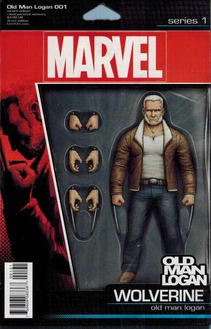 Old Man Logan #1 Christopher Action Figure Variant Marvel 2016 ANAD