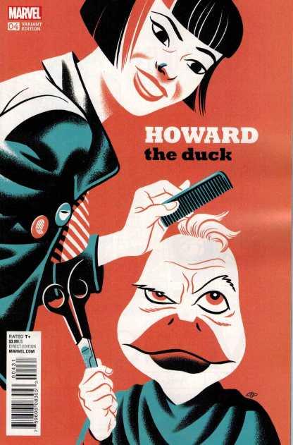 Howard the Duck #4 1:20 Michael Cho Variant ANAD Marvel 2015