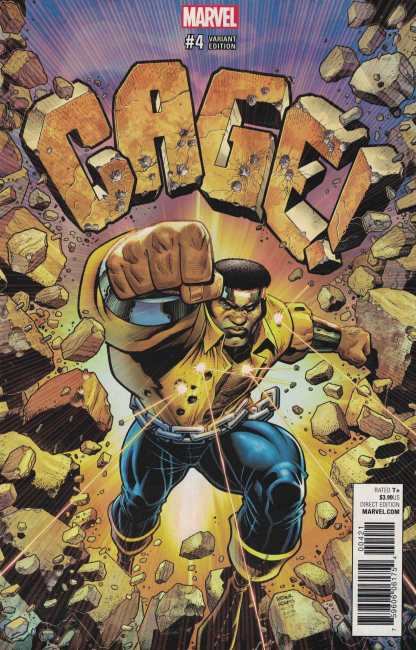 Cage #4 1:25 Art Adams Variant Marvel 2016 Luke Cage Power Man Rare