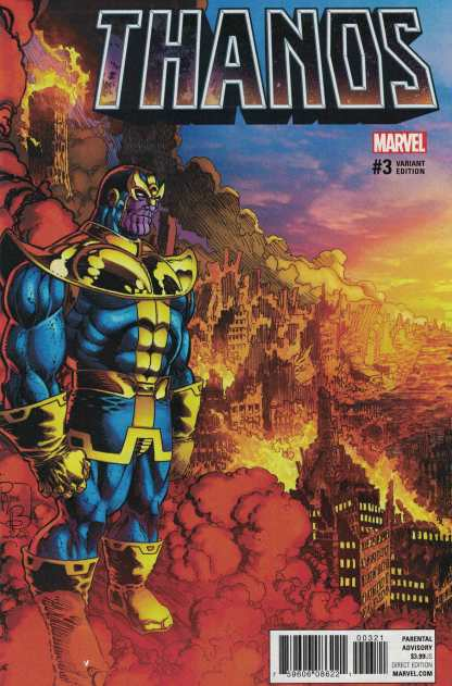 Thanos #3 1:25 Pat Broderick Variant Marvel NOW 2016 Lemire