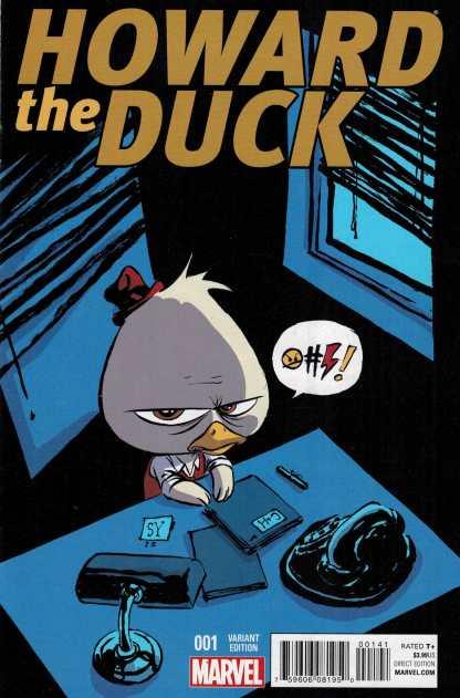 Howard the Duck #1 Skottie Young Baby Variant Marvel Zdarsky