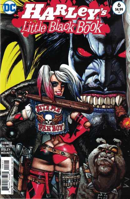 Harley's Little Black Book #6 1:25 Simon Bisley Variant DC Lobo Harley Quinn