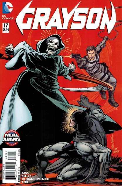 Grayson #17 Neal Adams Batman Homage Variant DC New 52