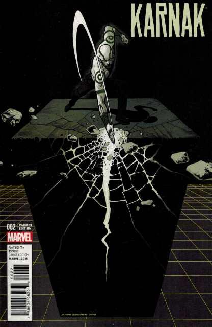Karnak #2 1:25 Nowlan Variant Marvel 2015 ANAD
