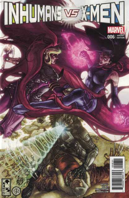 Inhumans vs X-Men #6 1:50 Simone Bianchi Marvel IVX 2017