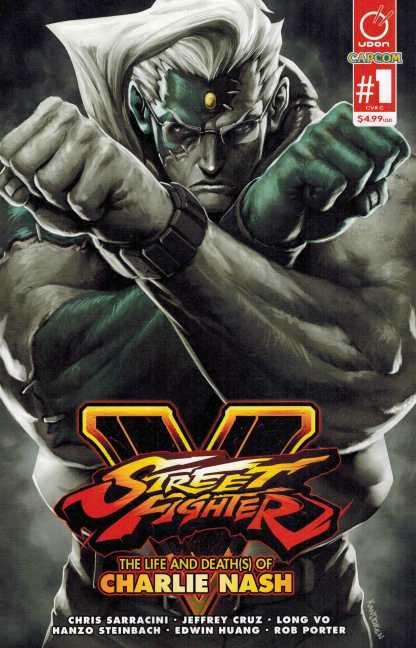 Street Fighter V Life and Deaths of Charlie Nash One-Shot Variant Udon 2016