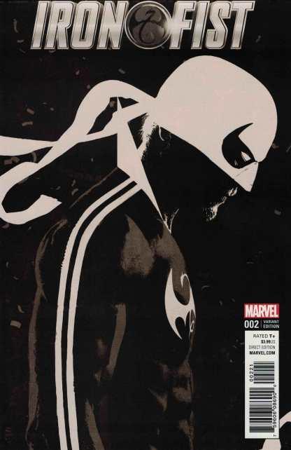 Iron Fist #2 1:25 Tim Bradstreet Marvel 2017