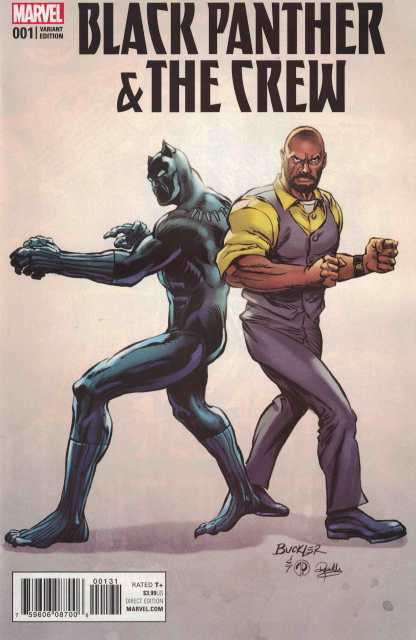 Black Panther & The Crew #1 1:15 Rich Buckler Classic Variant Marvel Luke Cage