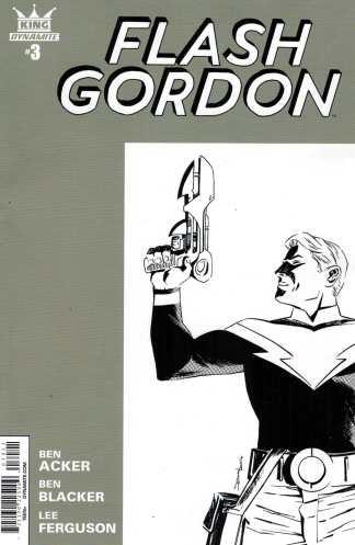 King Flash Gordon #3 1:10 Declan Shalvey Variant Dynamite Comics