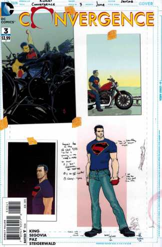 Convergence #3 1:100 Aaron Kuder Superman Design Variant DC