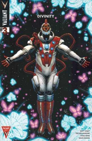 Divinity #3 1:10 Robert Gil Variant Valiant