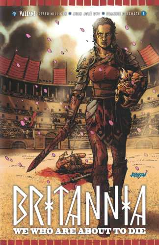 Britannia We Who Are About to Die #1 1:50 Johnson Variant Cover F Valiant 2017