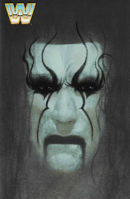 WWE #4 1:40 Frazer Irving Variant Sting Forever Cover Boom 2017
