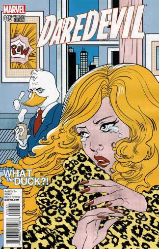 Daredevil #15 Marguerite Savage What the Duck Variant WTD Howard