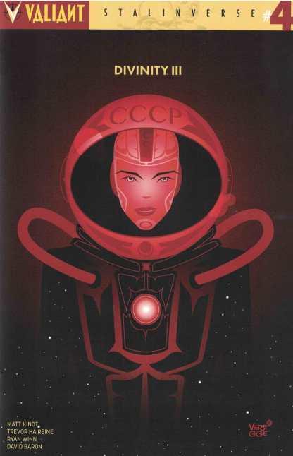 Divinity III #4 1:10 Veregge Cover C Variant Valiant 2016 Stalinverse