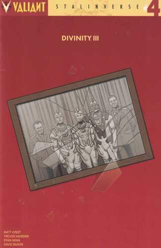Divinity III Stalinverse #4 1:20 Greg Smallwood Cover D Valiant 2016