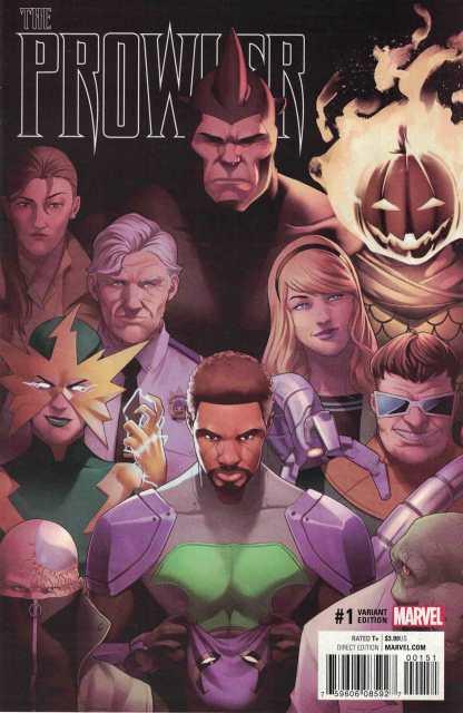 Prowler #1 1:25 Jamal Campbell Variant Marvel 2016 CC