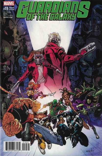 Guardians of Galaxy #19 Schiti Final Issue Variant Marvel 2015