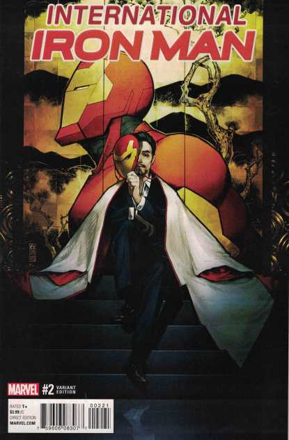 International Iron Man #2 1:25 Shirahama Variant Marvel ANAD 2016