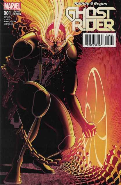 Ghost Rider #1 1:25 Tradd Moore Variant Marvel 2016 Robbie Reyes