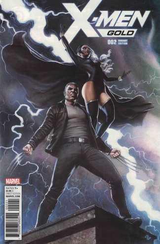 X-Men Gold #2 1:25 Adi Granov Variant Marvel 2017 Logan Storm