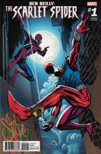 Ben Reilly Scarlet Spider #1 1:15 J Scott Campbell Variant Marvel 2017
