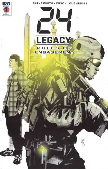 24 Legacy Rules of Engagement #1 1:10 Fuso Variant RI Cover IDW 2017
