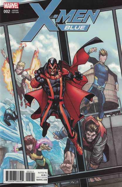 X-Men Blue #2 1:25 Humberto Ramos Marvel 2017 Magneto