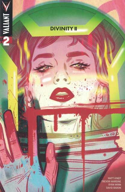 Divinity II #2 1:20 Tula Lotay Variant Cover D Valiant 2016
