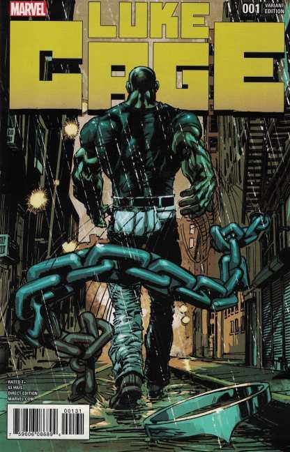 Luke Cage #1 1:15 Neal Adams Variant Marvel 2017
