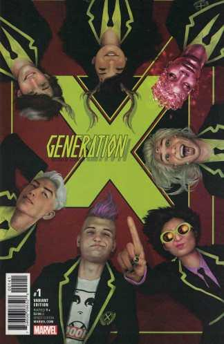 Generation X #1 1:15 Rahzzah Variant Marvel 2017